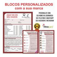 Kit Ficha Micropigmentação Personalizada + Cuidados Cliente