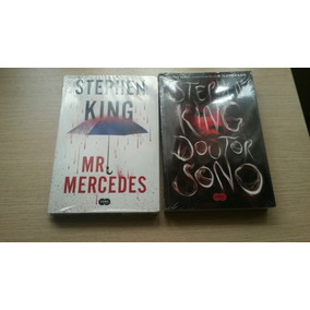 Livro Mr. Mercedes + Doutor Sono Stephen King - Lacrado Novo