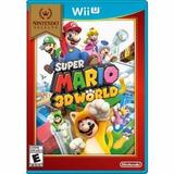 Super Mario World 3d Wii U Nuevo Sellado - Boleta Garantía