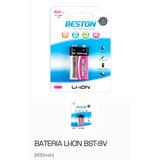 Bateria 9v Beston Lithium