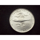 Fv * Vaticano 1975 - 10 Liras Unc - Pez
