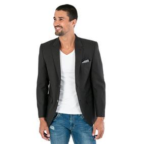 Saco Negro De Hombre En Color Negro Marca Ramaty