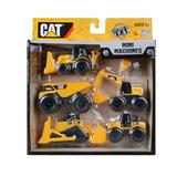 Toy State Caterpillar Maquinas De Construcción 5-pack