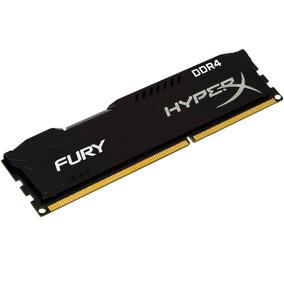 Memória Kingston Hyperx Fury Ddr4 2400 Mhz 8gb Hx424c15fb/8