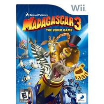 Madagascar 3: El Videojuego Para Nintendo Wii