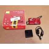 Camara Nikon Coolpix S3700 Wifi 20 Megapixeles