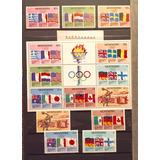 Sellos Postales, Monserrat, Jgos Olímpicos Moscu Año 1980