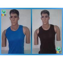 Franelillas Camisetas Guardacamisas Unicolor 100% Algodon