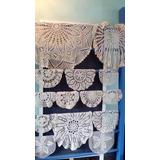 Senderos,carpetas, Manteles Y Almohadones En Crochet