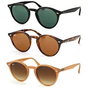 6125a15d3d Ray Ban Round Verde Dourado - Óculos no Mercado Livre Brasil