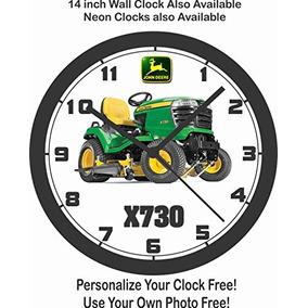 John Ddere X730 Mini Tractores Reloj De Pared Libre Ship Ee
