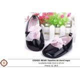 Zapatos Para Bebe,negro,charol,niña,fiesta,regalo,importado