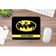 Mousepad Personalizado Batman Con Nombre