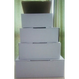 Cajas De Carton Para Zapatillas / Zapatos De Chicos X 25 Uni