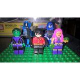 Mini Figuras Lego De Jovenes Titanes De Dc