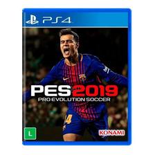 Pes 19 Ps4 Pro Evolution Soccer Mídia Física Lacrado