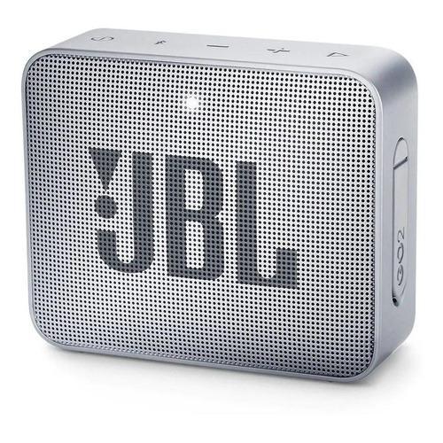 Alto-falante JBL Go 2 portátil com bluetooth ash gray