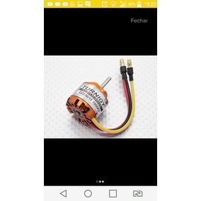 Radio Controle Flysky Bateria Esc Motor Servos E Helices