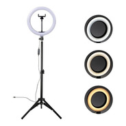 Ring Light 10  Led Iluminador Led C/ Tripé