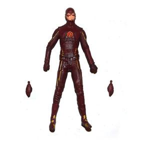 Boneco Flash Série Tv 18cm Action Figure Batman Superman Dc