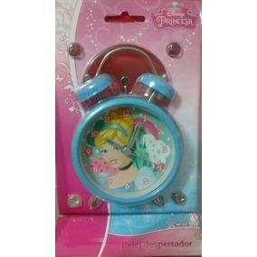 Princesas Disney Reloj Despertador Infantil A Pila