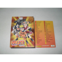 Naruto Ninja Ranks Set Completo 72 Tarjetas