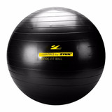 Gym Ball 75cm Ziva Abcb-0075 Pvc Antiexplosion Con Inflador