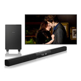 Barra De Sonido Home Theater Soundbar Bluetooth Qsonic S1106