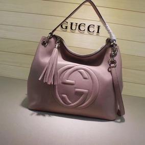 Bolsa Gucci Em Couro Maravilhosa Pronta Entrega No Brasil