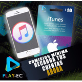 Tarjeta De Regalo Gift Card Itunes & App Store 10$