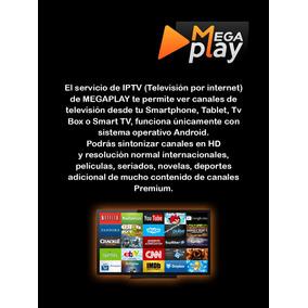 Megaplay Cuentas Iptv Hd 800 Canales 2000 Peliculas Series