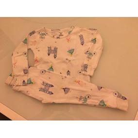 Kit Pijama 24 M Carters 1 Blusa Manga Comprida 1 Calça