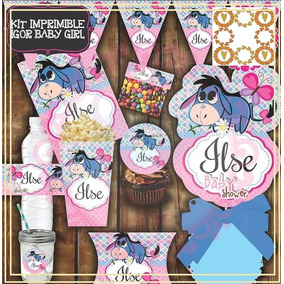 Kit Imprimible Candy Bar Mesa Dulce Postres Baby Shower