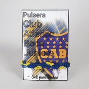 Pulsera Boca - Pulsera Futbol Argentino - Brazalete Boca