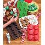 Tripack Moldes De Silicon Navidad Reposteria Jabones Chocola