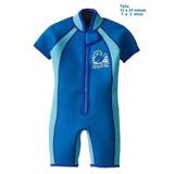 Traje De Baño Body Surf Surfista Azul Bebé Niño 12-24 Meses