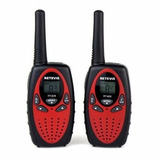 Rádio Comunicador Walkie Talkie Retevis Rt 628 Lcd Kit/2 Red
