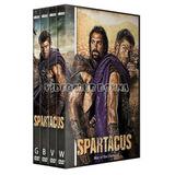 Spartacus Temporadas 1/2/3/4 Pack Serie Completa Dvd Esparta