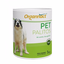 Pet Palitos Organnact 1 Kg