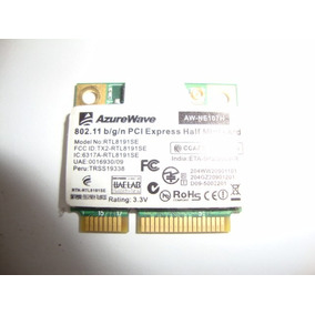 Mini Card Pci Express Modelo Rtl 8191se P/ Notebook Frete 7