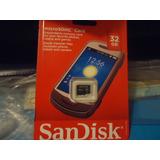 32gb Memoria Microsd Sandisk
