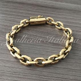 d294762ba57 Promoção ! Pulseira Em Ouro 18k 750 Italiano Cartier Cadeado - Joias ...