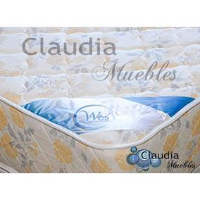 Colchon Camas 2 Dos Plazas Espuma Alta Densidad 140x190 20cm