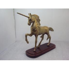 Joyas Decorativas De Bronce Y/o Laton Unicornio