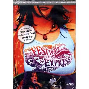 Festival Express - Dvd Duplo - Jerry Garcia - Janis Joplin