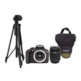 Canon Kit T6+lente 18-55+estuche+tripié+sd. 18mp, Full Hd
