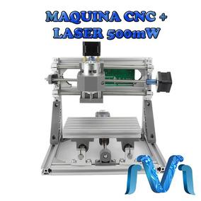 Maquina Cnc Fresadora Cortadora Para Pcb + Laser 500mw