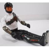 Muñeco Max Steel Negro C/bco