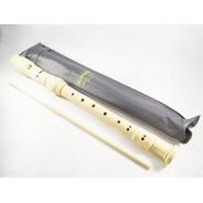 Flauta Dulce Soprano Hohner 3 Cuerpos Alemana C/varilla