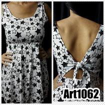 Vestidos Cortos De Fibrana Con Nudo,nuevos Modelos